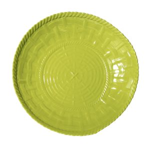 Woven Shallow Bowl-LM