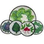 Verdura Vegetable Garden Serving Set