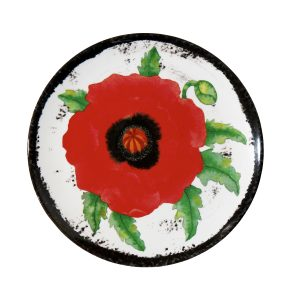 Botanicals Flower Salad Plates-Set of 4 Morning Glory