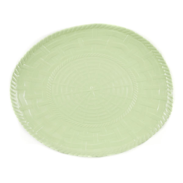 Woven Oval Platter-LM