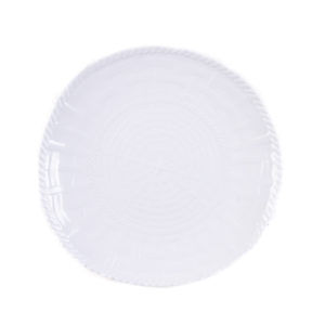 Woven Dinner Plate-WH