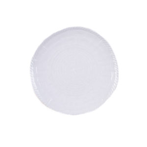 Woven Salad Plate-WH