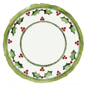 Holly Jolly Dinner Plate