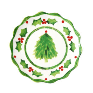Holly Jolly Salad Plate