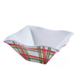 Tartan Twist Cereal/Dip Bowl
