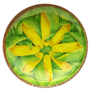 Verdura Corn Shallow Bowl