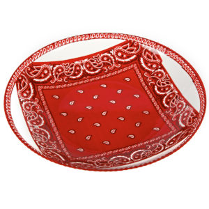 Bandana Shallow Bowl