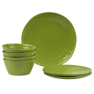 Woven Dinnerware-Set of 4-LM