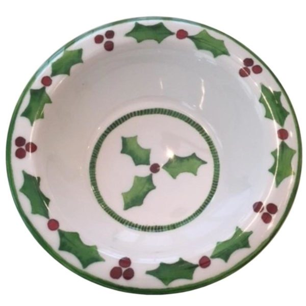 Holly Jolly Cereal Bowl